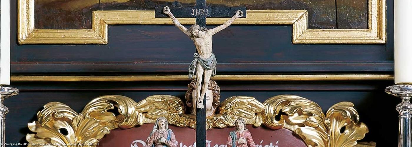 Predella am Altar