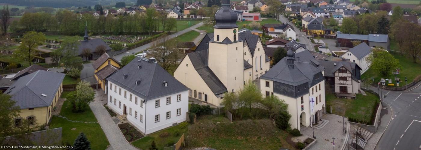 St.-Jakobus-Kirche von oben